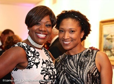 ICSGroup Diversity & Community Involvement - The Amistad Center for Art - Juneteeth Gala - Medina Jett & Lisa Lazarus